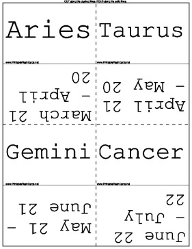 Astrology Dates template