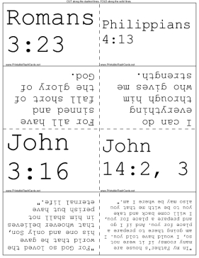 Bible Verses to Memorize template