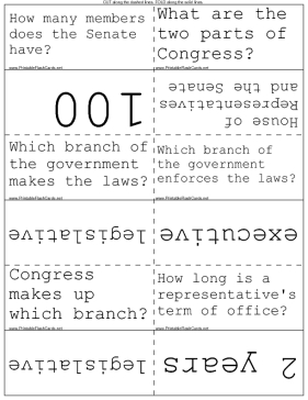 Branches of U.S. Government template