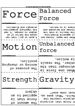 Forces in Physics template