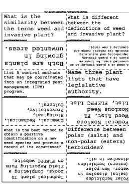Herbicides template