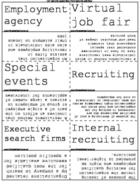 Job Recruiting template