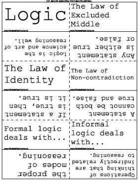 Logic Terms template