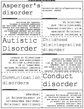 Physical and Mental Disorders template