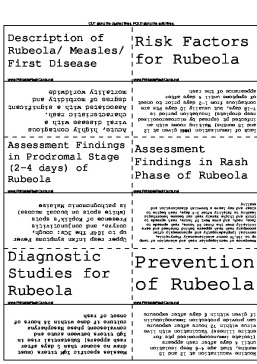 Rubeola/Measles template