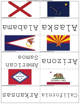 State Flags template