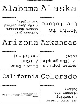 State Mottos template